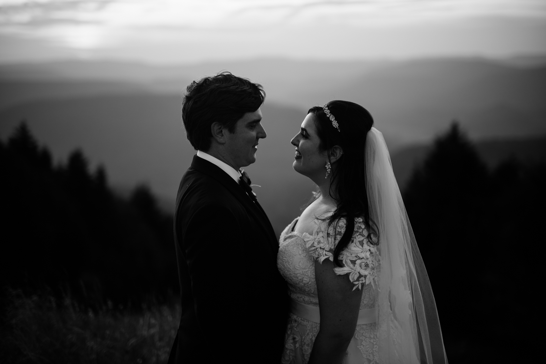 black and white couple